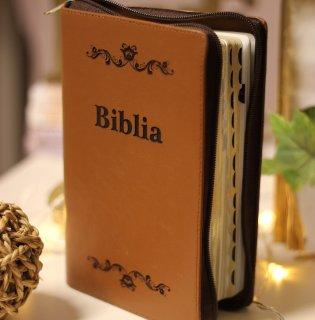 - Biblie medie lux - maro