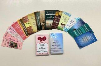 - Set carduri versete biblice