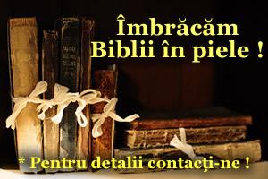 Imbracari Biblii in piele